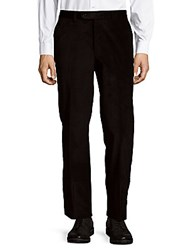 Jack Victor Classic Cord Trousers Black