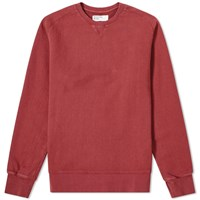 Universal Works Classic Crew Sweat Red