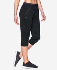 Under Armour Cropped Pants Black