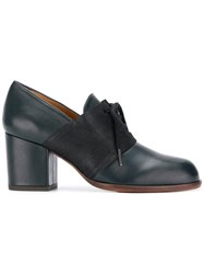 Chie Mihara Heeled Lace Up Shoes Blue