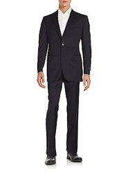 Saks Fifth Avenue Napoli Wool Suit Navy