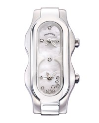 Philip Stein Teslar Philip Stein Stainless Steel Diamond Mini Signature Watch Head Mother