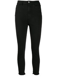 Pinko High Waisted Cropped Skinny Jeans 60