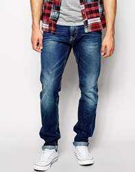 Pepe Jeans Russel Slim Tapered Fit Dry Cured Mid Wash Drycuredmid