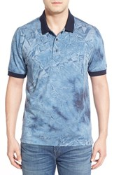 Men's Cutter And Buck 'Comet' Graphic Short Sleeve Polo