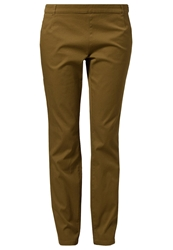 More And More Trousers Light Olive Green
