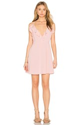 Oh My Love Frill Front Skater Dress Pink