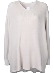 Cityshop Slouchy Sweater Nude Neutrals
