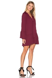Amanda Uprichard Holland Dress Wine