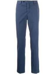 Hackett Regular Leg Chino Trousers Blue