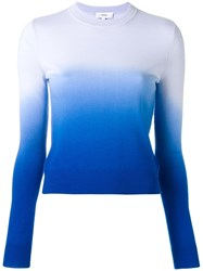 Carven Gradient Jumper Blue