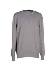 Andrea Morando Knitwear Jumpers Men Grey