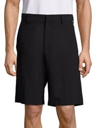 Mcq By Alexander Mcqueen Solid Pull On Shorts Black