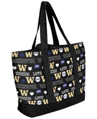 Forever Collectibles Washington Huskies Tote Bag Purple
