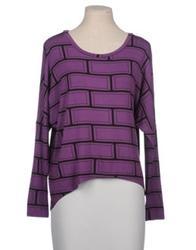 Oli Rubi By Olivia Rubin Long Sleeve T Shirts Purple