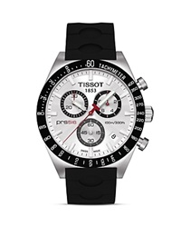 Tissot Prs516 Men's Silver Quartz Chronograph Sport Watch 42Mm No Color
