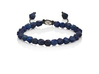 M Cohen M. Men's Deca 10 Beaded Bracelet Silver
