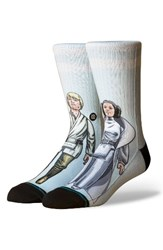 Stance Men's Star Wars Tm Family Force Socks Aqua