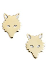 Ginette_Ny Women's Ginette Ny 'Wolf' Stud Earrings