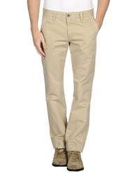 Selected Homme Trousers Casual Trousers Men Beige