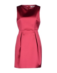 Manuel Ritz Short Dresses Fuchsia