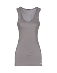 My T Shirt Tank Tops Grey