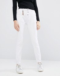 Vero Moda Antifit Black Skinny Trousers Leg 32 Bright White