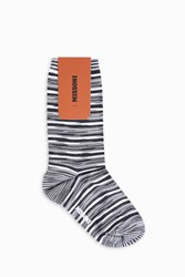 Missoni Women S Short Stripe Socks Boutique1 Multi