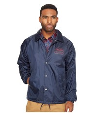 Brixton Dale Jacket Light Navy Men's Coat Blue