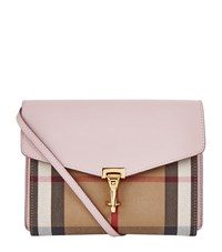 Burberry Shoes And Accessories Small Macken Bag Female Light Pink