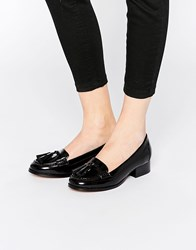 Ravel Tassel Loafers Black