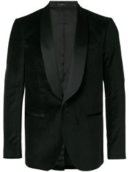 Mauro Grifoni Classic Fitted Blazer Black