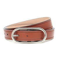 Acne Studios Leather Belt Brown