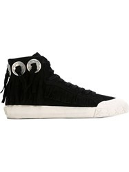 Ash 'Marlon Baby' Hi Top Sneakers Black