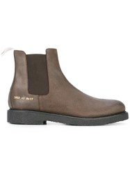 Common Projects Chelsea Boots Brown
