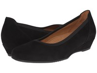 Gabor 02.690 Black Samtchevreau Women's Wedge Shoes
