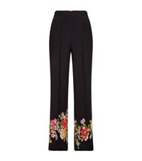 Etro Floral Print Palazzo Trousers Multi