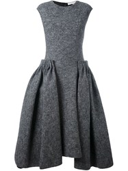 Stefano Mortari Flared Dress Grey