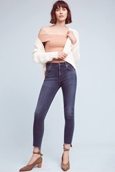 Anthropologie Citizens Of Humanity Rocket High Rise High Low Skinny Jeans Denim Medium Blue