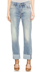 Mih Jeans The Phoebe Slouchy Jeans Youth Wash
