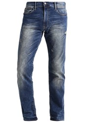 Petrol Industries Slim Fit Jeans Dark Used Stone Blue Denim