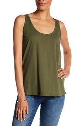 Michael Stars Double Scoop Tank Multi