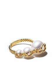 Tasaki 18Kt Yellow Gold Stretched Ring 60