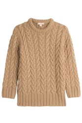 Michael Kors Collection Cashmere Pullover Camel