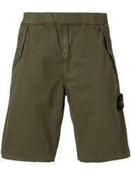 Stone Island Classic Fitted Shorts Green