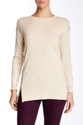 Cullen Double Knit Side Zip Tunic Beige