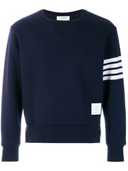 Thom Browne Relaxed Fit Engineered 4 Blue