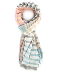 Ikks Multi Coloured Striped Scarf