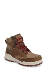 Ecco Women's Track 25 Gore Tex Waterproof Hiking Boot Brown Leather