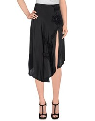Cristinaeffe Skirts Knee Length Skirts Women Black